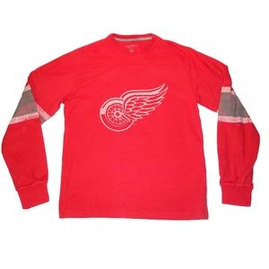 Detroit Red Wings Long Sleeve T-Shirt
